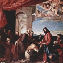 Communion of the Apostles by Jusepe de Ribera