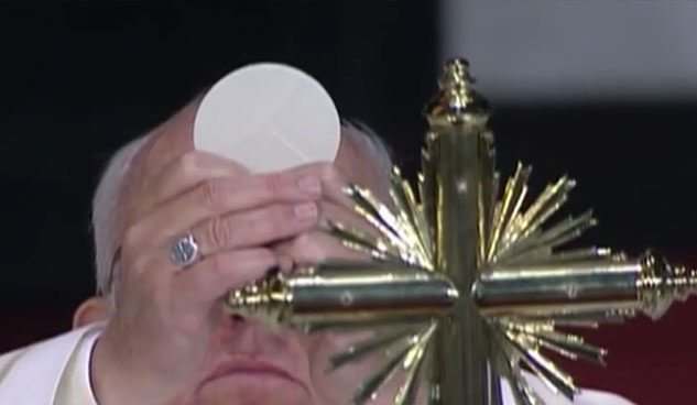 The sacraments will make you strong!